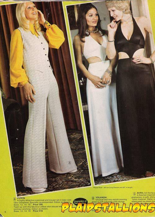 1970s LINGERIE CATALOG