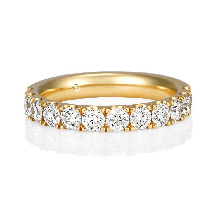 Nicholas Haywood Jewellery Concierge - Diamond Yellow Gold Band Ring 0.84ct , $3,500.00 (http://nhjc.mybigcommerce.com/diamond-yellow-gold-band-ring-0-84ct/)