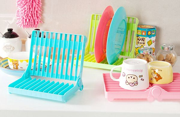 promotional creative kitchen foldable dish rack, View creative foldable dish rack, BUMBOOBOX Product Details from Anxi Kinlenhon Industrial Trade Co., Ltd. on Alibaba.com