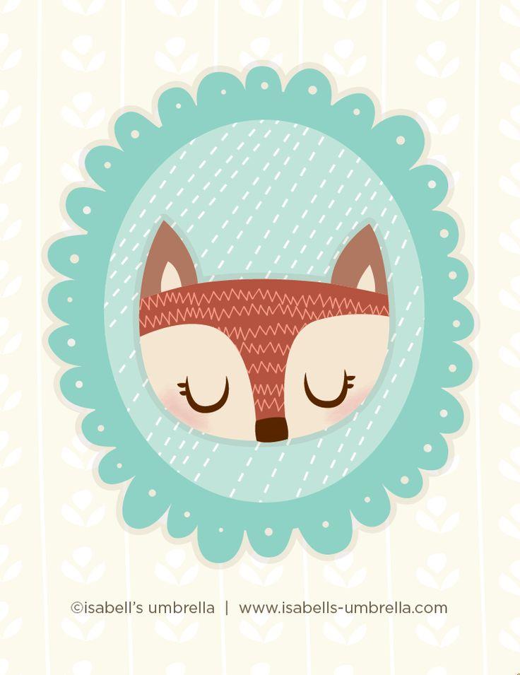 Foxy Lady. www.isabells-umbrella.blogspot.com #isabellsumbrella