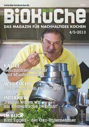 """""""Bio wird belohnt: Neue Marketing-App für Gastronomie"""", Die Bioküche, 24.05.2013"""