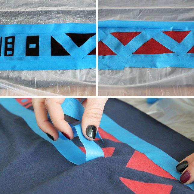 How to Make Reverse Tie Dye Jersey-Knit Scarves