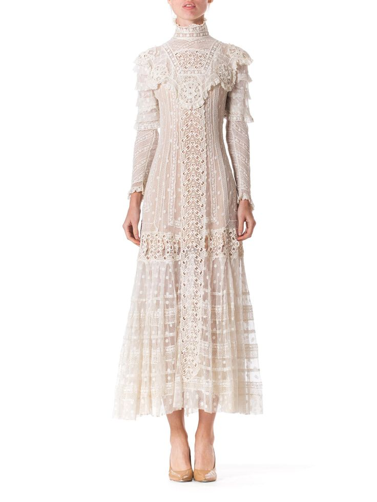 Late Victorian Lace Tea Dress                                                                                                                                                                                 More