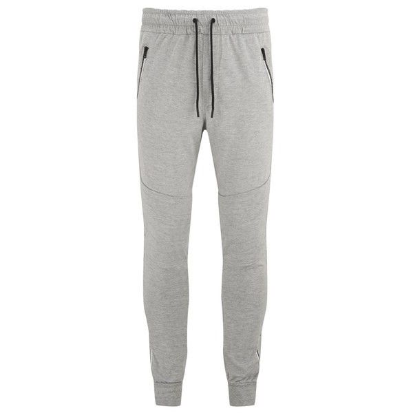 Religion Men's Blade Cuffed Jogging Sweatpants (135 BRL) ❤ liked on Polyvore featuring men's fashion, men's clothing, men's activewear, men's activewear pants, grey, mens cuff sweatpants, mens sweat pants, mens activewear pants, mens grey sweatpants and mens sweatpants