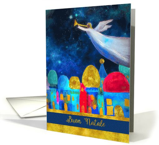 181 best foreign language christmas paper greeting cards images on granddaughter and her husband merry christmas angel gold effect card personalize any greeting card for no additional cost cards are shipped the next m4hsunfo