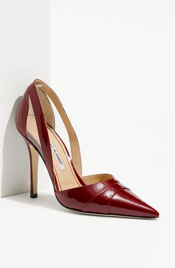 This is my new favorite red heel, but I'm thinking $765 MIGHT be a little too steep.  A girl can dream.  ;)