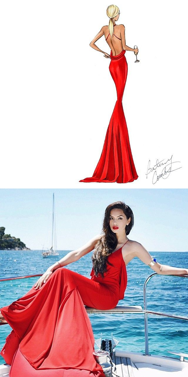 f6e4b7f14b Gorgeous Off the Shoulder Mermaid Red Lace Evening Dress from ...
