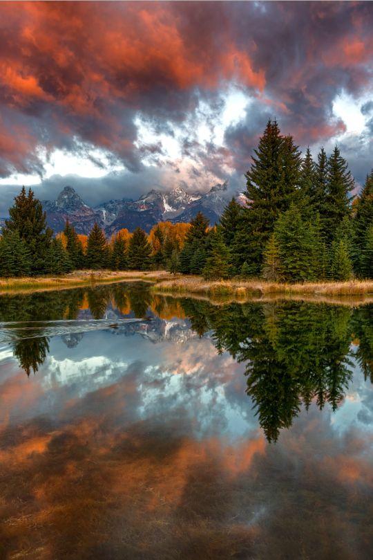Schwabacher Sunrise  by Ben Egbert