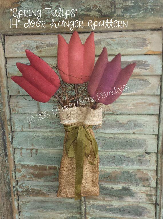 53 Best Images About Primitive Flowers On Pinterest