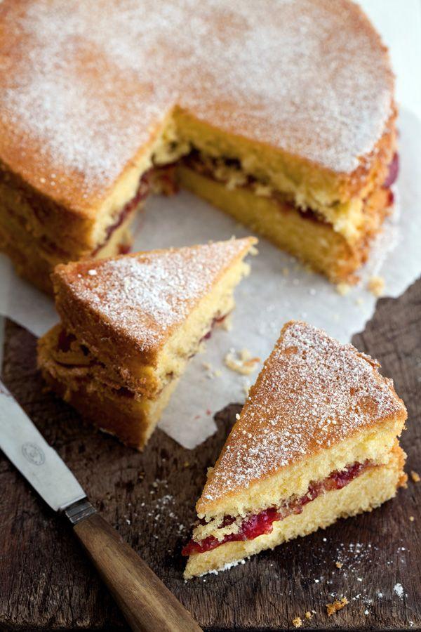 Basic Sponge Cake Recipe Donna Hay