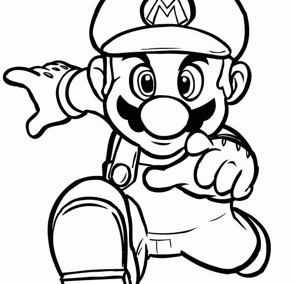 ice mario coloring pages - photo#7