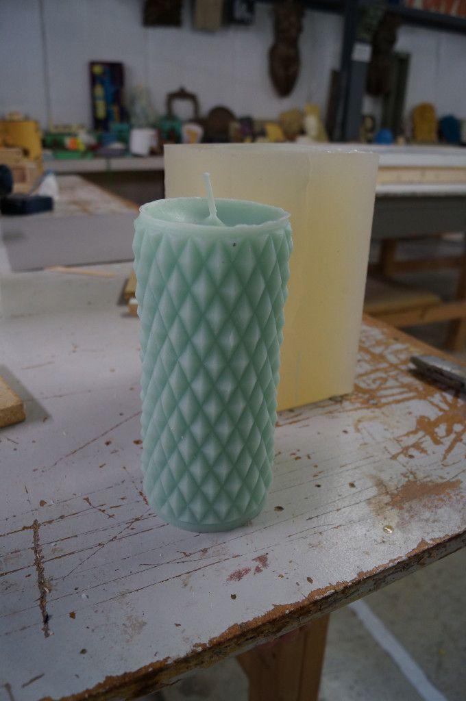 делаем форму-молд для заливки свечи или статуэтки