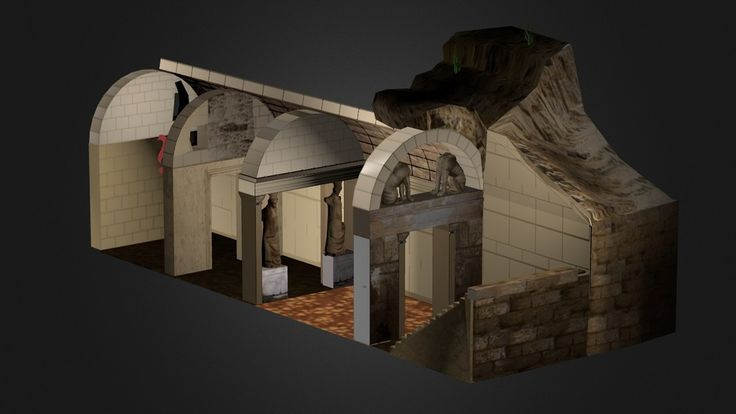 """Amphipolis Tomb by Greektoys.org"" by magikos-fakos"