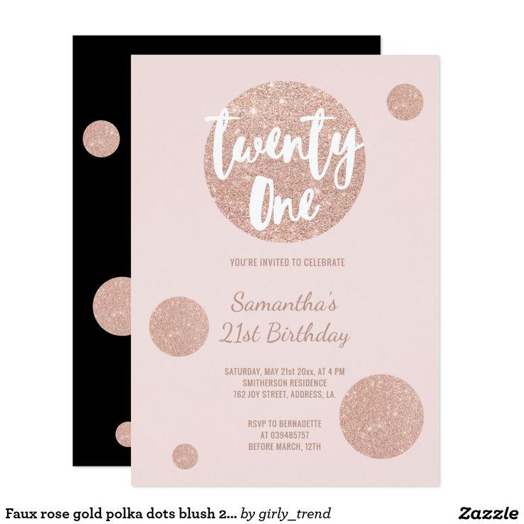 Best 25 21st birthday invitations ideas – 21 Birthday Invitation Cards