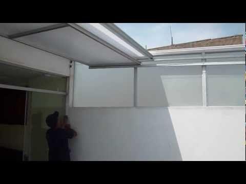 Video de techo corredizo youtube techos de - Techos de aluminio para terrazas ...