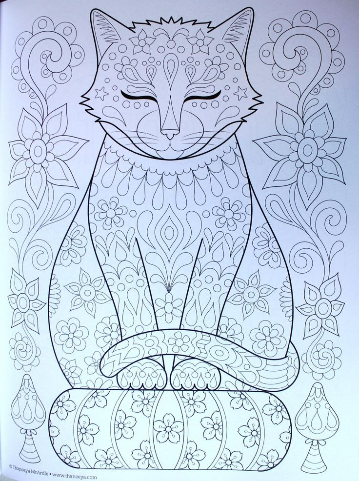 17 best images about color pages cats on pinterest cats for Coloring pages bliss