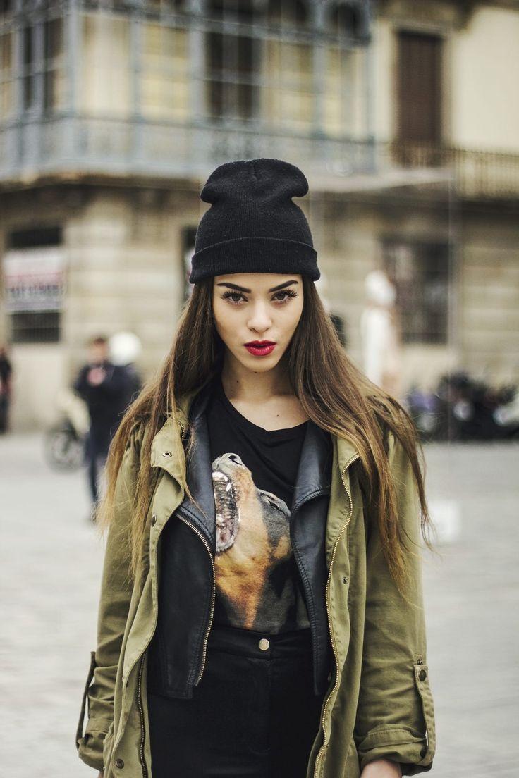 Sandra Fennou at 080 Barcelona Fashion by Iulia Pironea