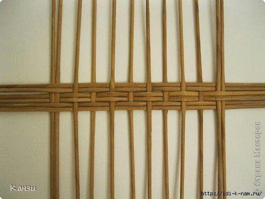 cómo tejer inferior ovalada para las cestas de los periódicos, clase magistral en el día para tejer cestas ovaladas de periódicos, Hugo Pyuga costura, http://idi-k-nam.ru/,