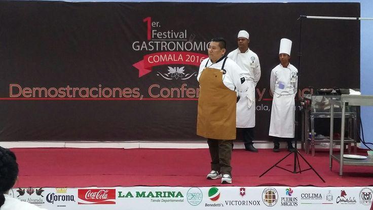 """""""Transmitir cocinando"""" Chef Julio Oetega."""