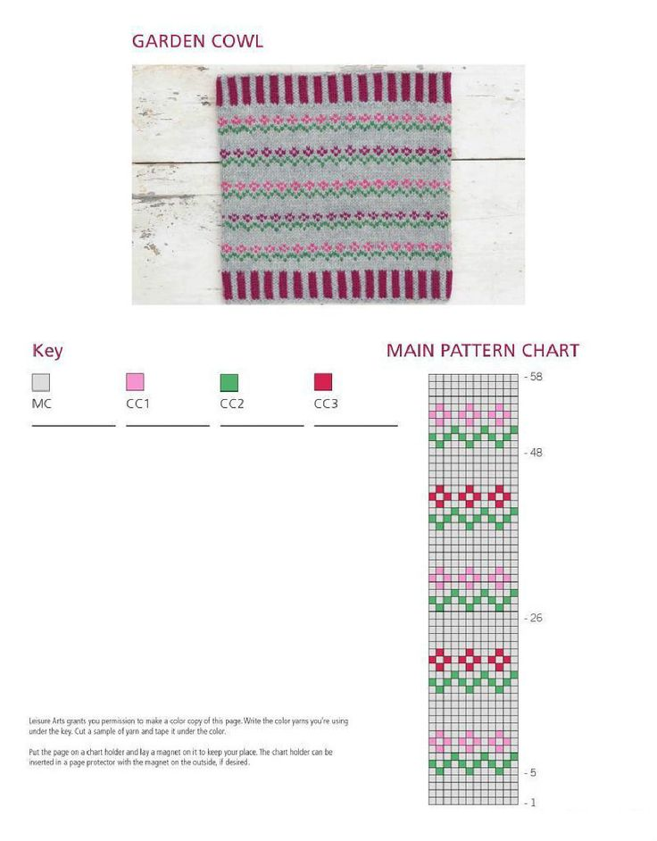 11 best Knitting - Fair Isle images on Pinterest   Knitting charts ...