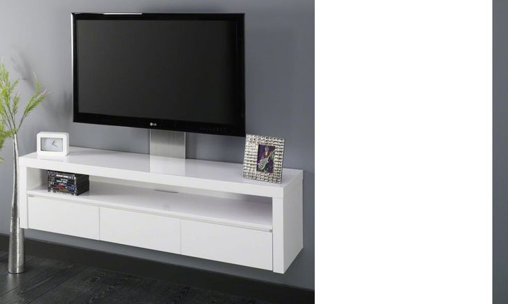 17 mejores ideas sobre meuble tv suspendu en pinterest for Meuble tv suspendu 120 cm
