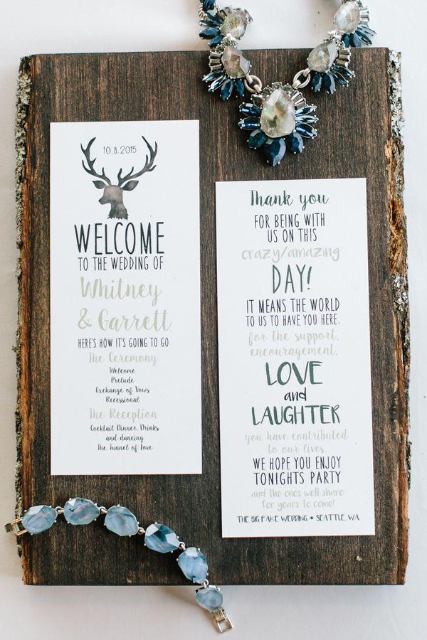 310 best Programs and Signage images on Pinterest   Wedding ideas ...