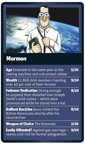 God Trumps Mormon card