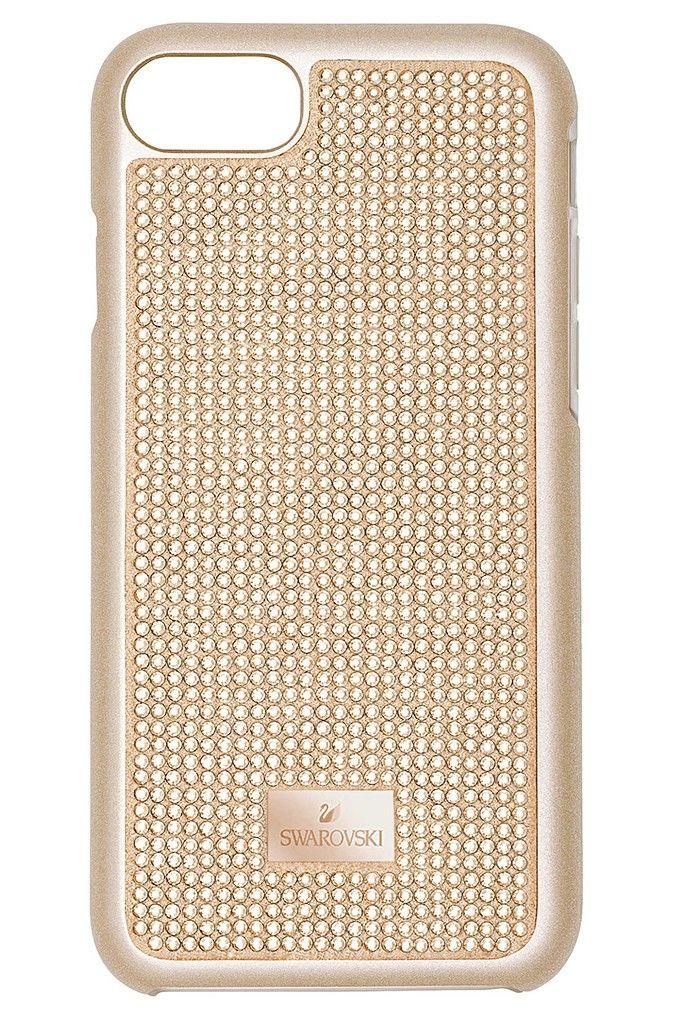 Swarovski Telefoonhoes met Bumper Hero Pink Samsung Galaxy S8* 5370255. Uniek en trendy rosekleurige Smartphonecase voor een Samsung Galaxy S8*. Een supergaaf hoesje voor een smartphone, gezet met rosékleurige crystal rock kristallen in een trendy design. Een perfect accessoire voor elke modebewuste dame. Het smartphone hoesje is bovendien voorzien van een metalen, rosékleurig labeltje met het logo van Swarovski. De afmetingen van de Hoes zijn 15,5 x 7,5 x 1 cm. *Samsung Galaxy is een…