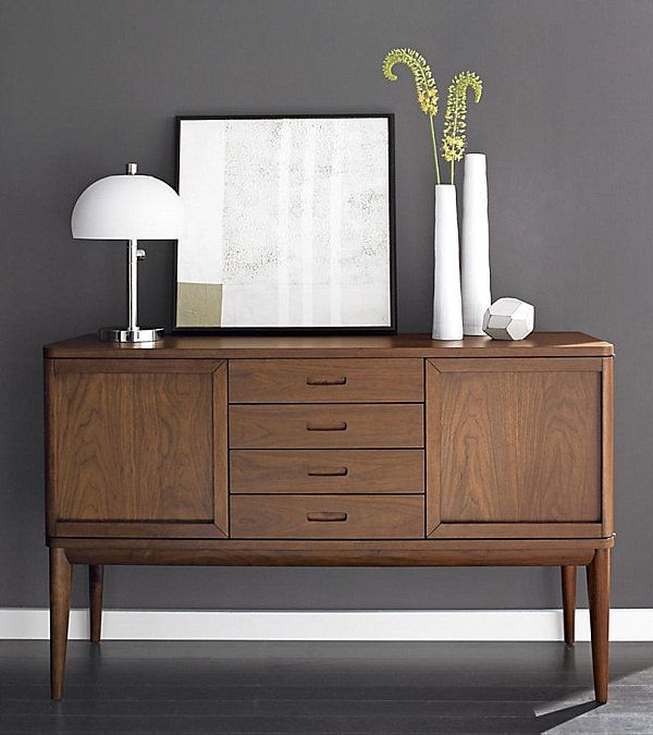 20 modern credenzas with contemporary flair wooden for Designer sideboard outlet
