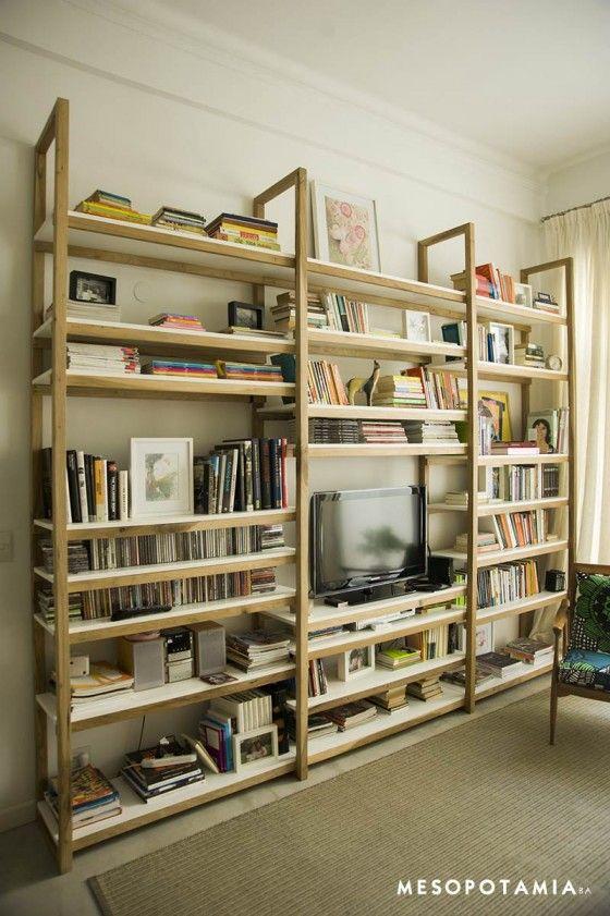 Esta estantería quiero para el living