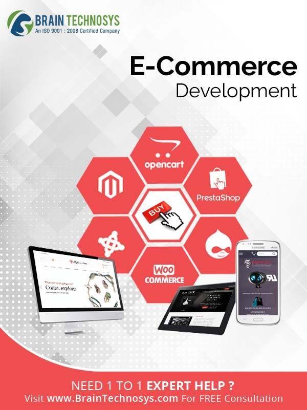 Best Web Mobile App Development Company In India Brain Technosys Ecommerce Website Development App Development Companies Website Development Company