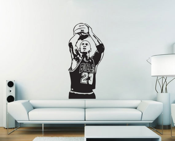 Best Mj Wall Decals Images On Pinterest Michael Jordan - Custom vinyl wall decals for kitchenbest vinyl wall art images on pinterest vinyl wall art wall