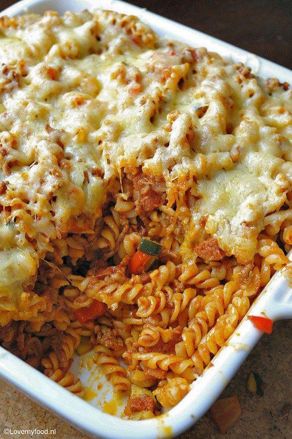 meatlovers pastaschotel