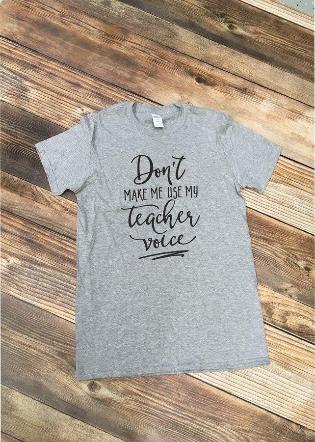 Funny teacher tees - perfect for Teacher Appreciation Week!