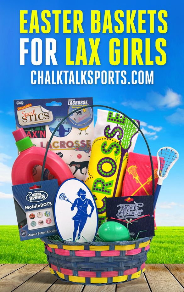 81 best sports easter baskets images on pinterest athlete for easter this year surprise your favorite girls lacrosse player with a lacrosse easter basket negle Image collections