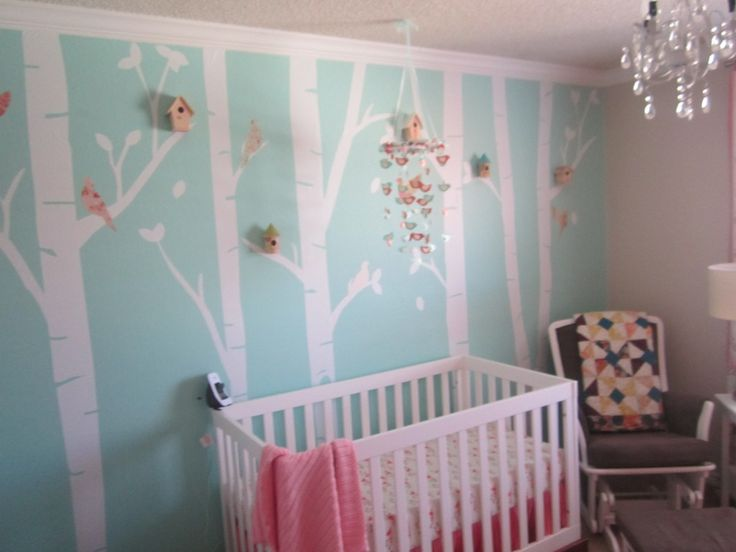 Baby Girl Whimisical Birds Nursery | Project Nursery