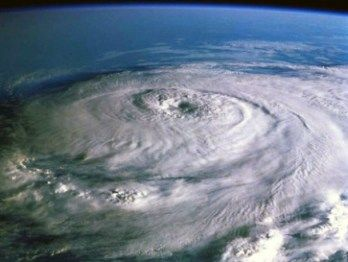 The spiral shows up often in nature - in hurricanes and tornados, .