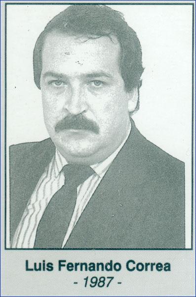 Luis Fernando Correa 1987