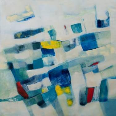 65.15 Oil on canvas, 100x100 cm, 2015, Venice, Italy #art #contemporary #original artwork #artist #painting #oil on canvas