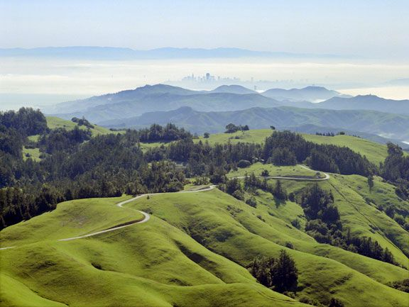 Bolinas Ridge-Marin County, California  Nowhere more beautiful!