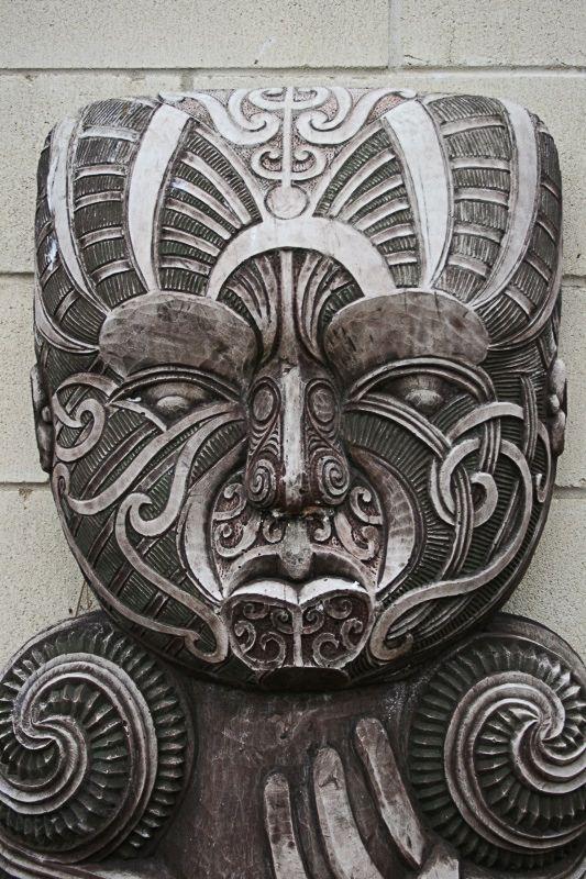 Traditional maori stone carving hamilton aotearoa new
