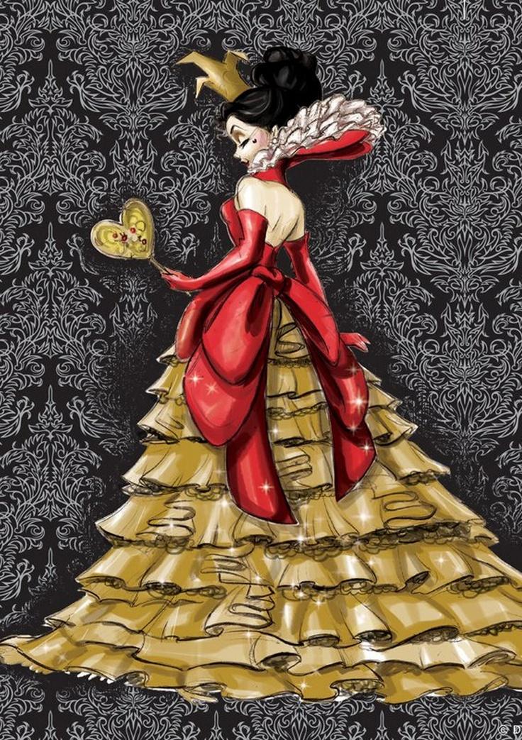 Disney Designer Villain - Red Queen by Stephen Thompson.