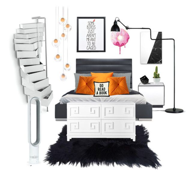 """Dream Bedroom"" by mayacblls on Polyvore featuring interior, interiors, interior design, home, home decor, interior decorating, Mitchell Gold + Bob Williams, B-Line, Canton Box Co. and Bocci"