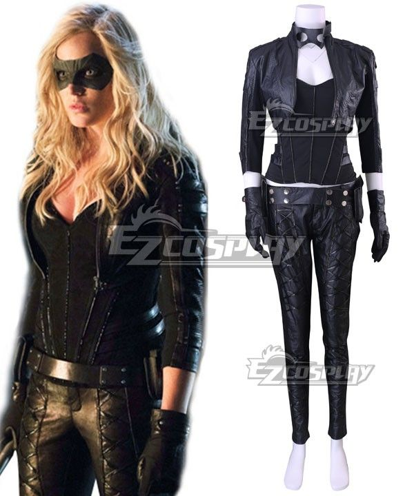 Pls email us if you need the costume, wig, shoes, weapon or other accessories of this character. Email address: Ezcosplay@gmail.com DC Comics Green Arrow Black Canary Dinah Laurel Lance Cosplay Costume (New Edition) - EDCG152