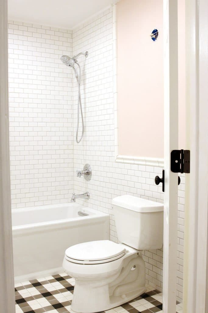 Choosing A Paint Color For Our Small Windowless Bathroom Chris Loves Julia Windowless Bathroom Bathroom Colors Best Paint Colors