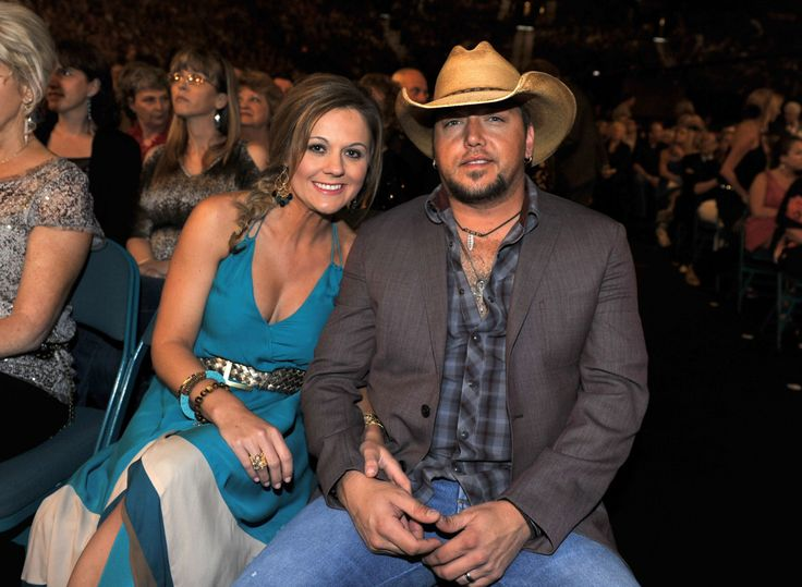 A Gorgeous Couple Jason Aldean And His Wife Jessica Aldean #AskaTicket #JasonAldean #JessicaAldean