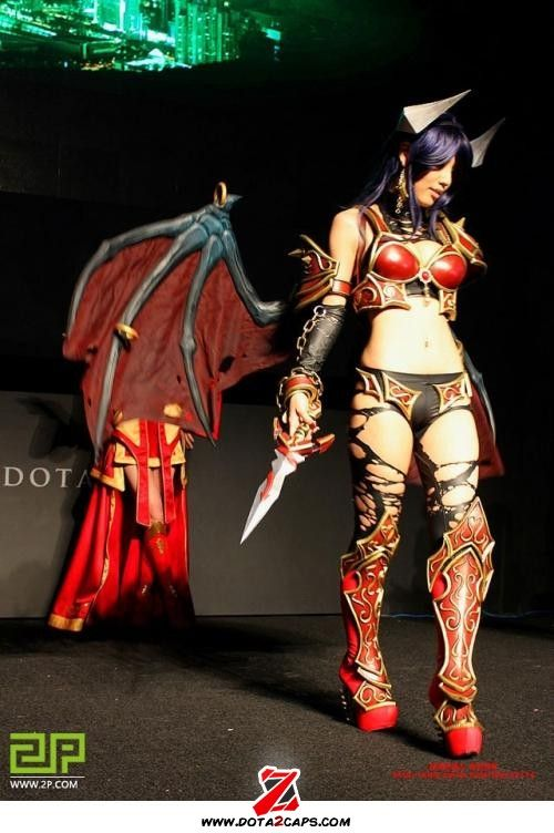 queen of pain cosplay ti4 - photo #45
