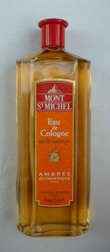 """L'eau de cologne de Papi: Mont Saint Michel Eau de Cologne """"Ambrée Authentique"""" 750 ml"""