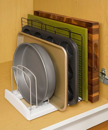 Another great find on #zulily! Store More Adjustable Bakeware Rack #zulilyfinds