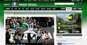 ESPN fantasy football sign in